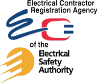 Electrical Contractor Registration Agency and Electrical Safety Authority Logo